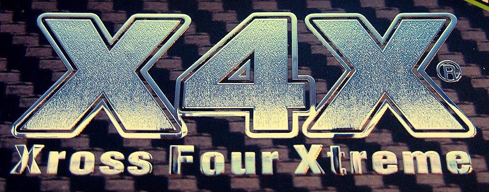 X4Xメタルステッカー