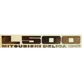 L500メタルステッカー