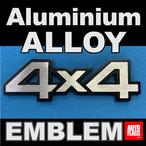 4x4アルミニウム合金エンブレム