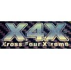 X4Xメタルステッカー 80mm